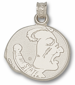 Florida State Sterling Silver Pendant