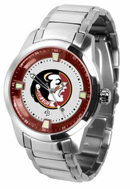 Florida State Titan Men's Steel Watch