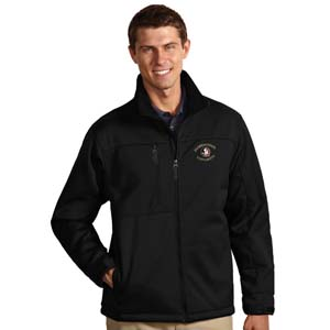 Florida State Mens Traverse Jacket (Team Color: Black) - Large