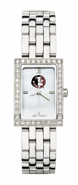 Florida State Women's Steel Band Allure Watch