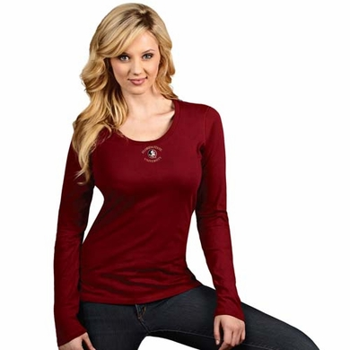 Florida State Womens Relax Long Sleeve Tee (Team Color: Maroon)