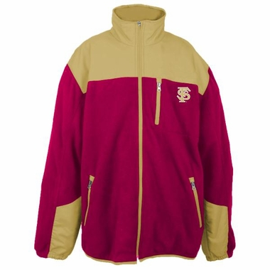 Florida State YOUTH Dobby Full Zip Polar Fleece Jacket