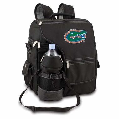 Florida Turismo Embroidered Backpack (Black)