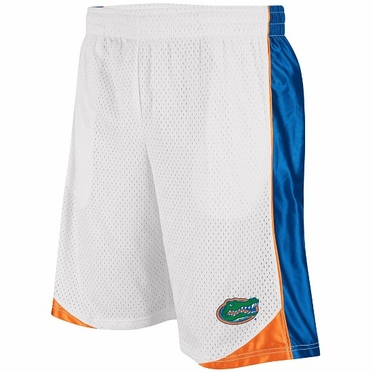 Florida Vector Performance Shorts (White)