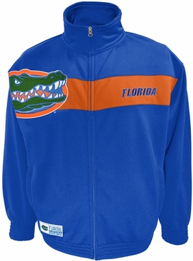 Florida Victory March Full Zip Colorblocked Track Jacket