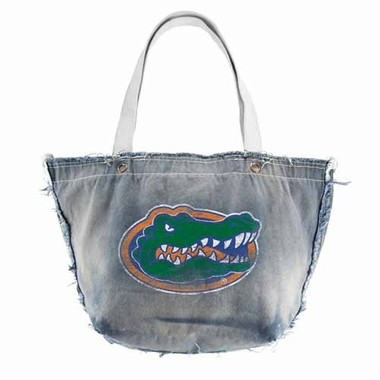 Florida Vintage Tote (Denim)