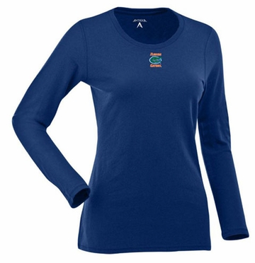 Florida Womens Relax Long Sleeve Tee (Team Color: Royal)