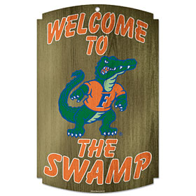 Florida Gators Wood Sign - 11 x 17