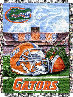Florida Woven Tapestry Blanket