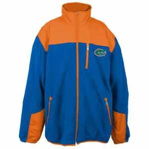 Florida YOUTH Dobby Full Zip Polar Fleece Jacket - Medium