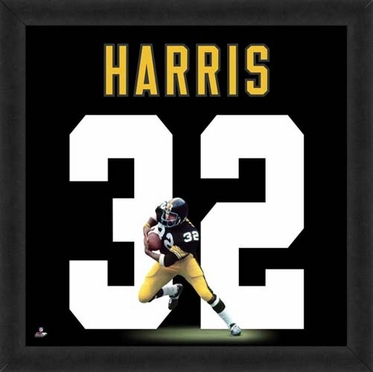 "Franco Harris, Steelers UNIFRAME 20"" x 20"""