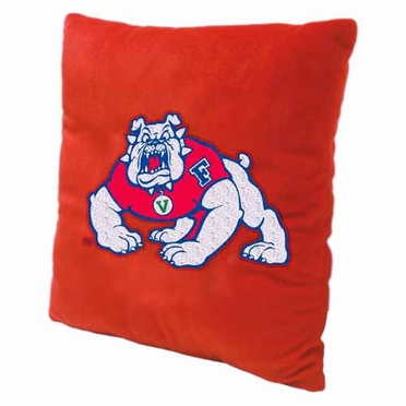 Fresno State 15 Inch Applique Pillow