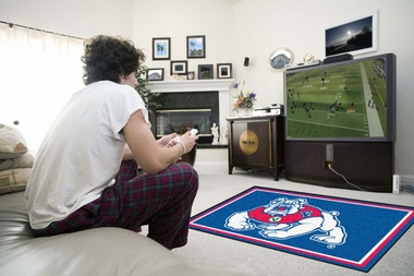 Fresno State 4 Foot x 6 Foot Rug