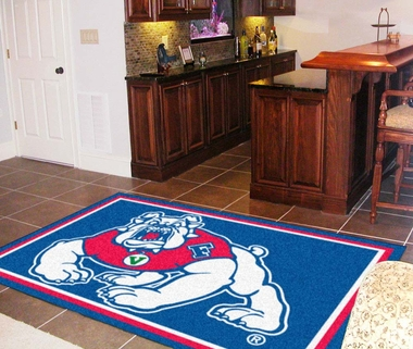Fresno State 5 Foot x 8 Foot Rug