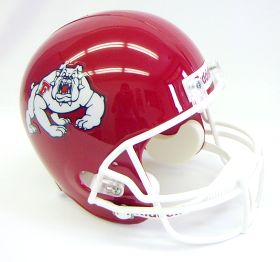 Fresno State Bulldogs Riddell Full Size Authentic Helmet
