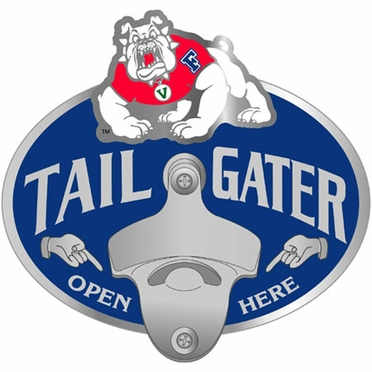Fresno State Bottle Opener Hitch Cover
