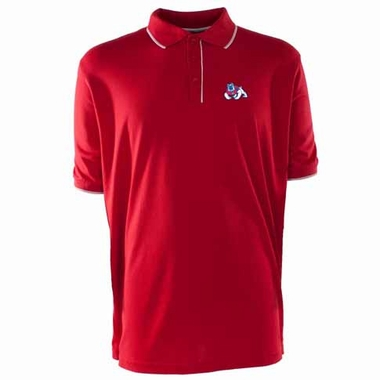 Fresno State Mens Elite Polo Shirt (Team Color: Red)