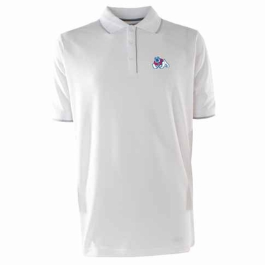 Fresno State Mens Elite Polo Shirt (Color: White)