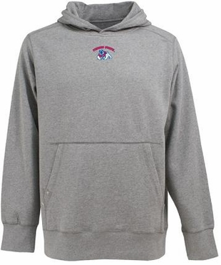 Fresno State Mens Signature Hooded Sweatshirt (Color: Gray)