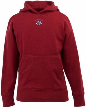 Fresno State YOUTH Boys Signature Hooded Sweatshirt (Team Color: Red)