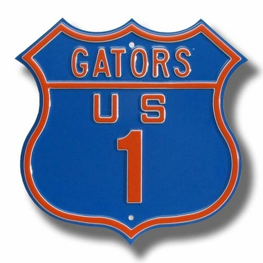 Gators / 1 Route Sign