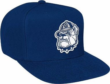 Georgetown Basic Logo Snap Back Hat
