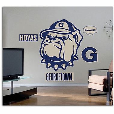 Georgetown Logo Fathead Wall Graphic