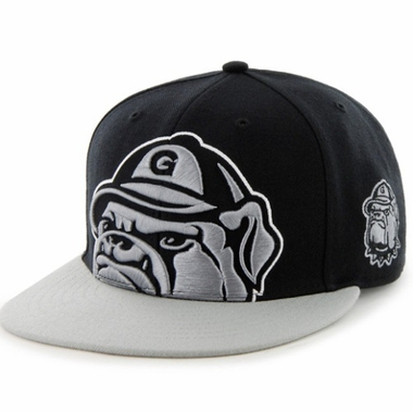 Georgetown Two Tone Colossal Snap Back Hat