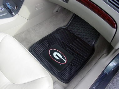 Georgia 2 Piece Heavy Duty Vinyl Car Mats