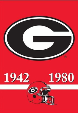 Georgia 2 Sided Championship Banner (P)