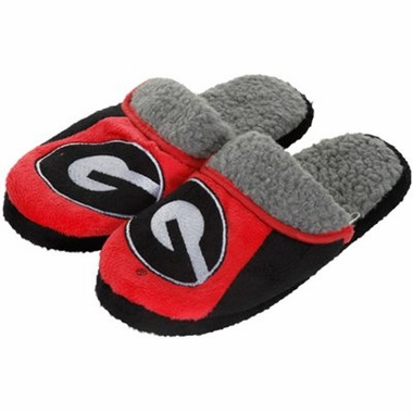 Georgia 2012 Sherpa Slide Slippers