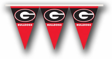 Georgia 25 Foot String of Party Pennants (P)