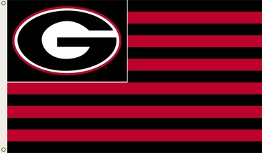 Georgia 3' x 5' Flag (Stripes) (F)