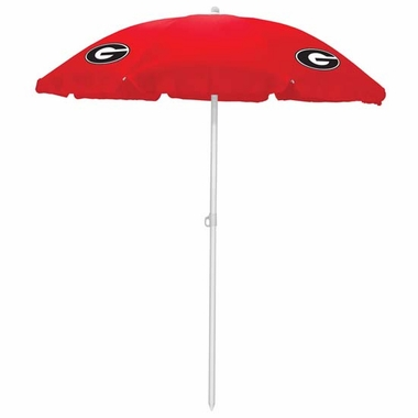 Georgia Beach Umbrella (Red)