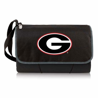 Georgia Blanket Tote (Black)