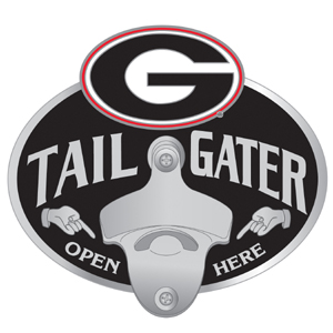 Georgia Bottle Opener Hitch Cover