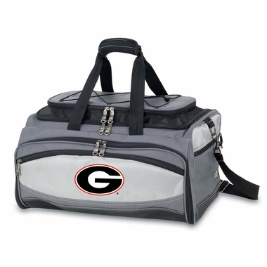 Georgia Buccaneer Tailgating Embroidered Cooler (Black)