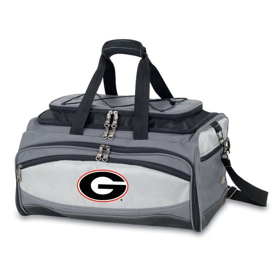 Picnic Time Georgia Buccaneer Tailgating Embroidered Cooler (Black)