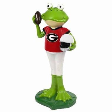 Georgia Bulldogs 12 Inch Frog Player Figurine