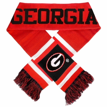 Georgia Bulldogs 2012 Team Stripe Knit Scarf