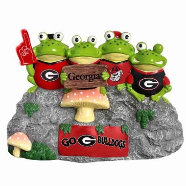 Georgia Bulldogs Frog Fan Bench