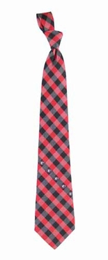 Georgia Check Poly Necktie