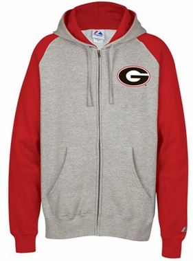 Georgia Classic Full Zip Hooded Sweatshirt