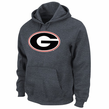 Georgia Conquest Tek Patch Hooded Sweatshirt