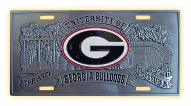 Georgia Deluxe Collector's License Plate