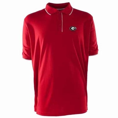 Georgia Mens Elite Polo Shirt (Team Color: Red)