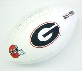 Georgia Embroidered Football