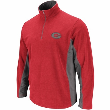 Georgia Fade II 1/4 Zip Micro Fleece Pullover
