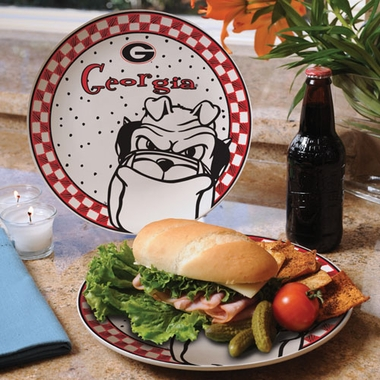 Georgia Gameday Ceramic Plate