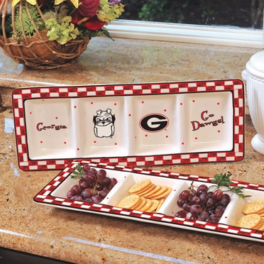 Georgia Gameday Relish Tray